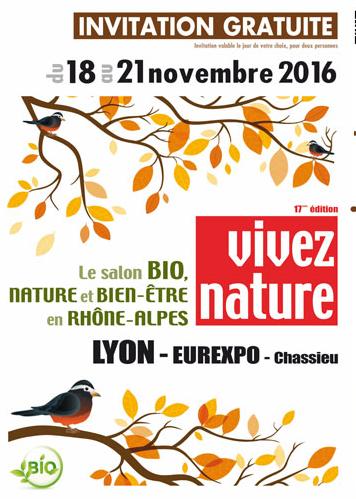 Le salon Bio Nature  – Invitation gratuite