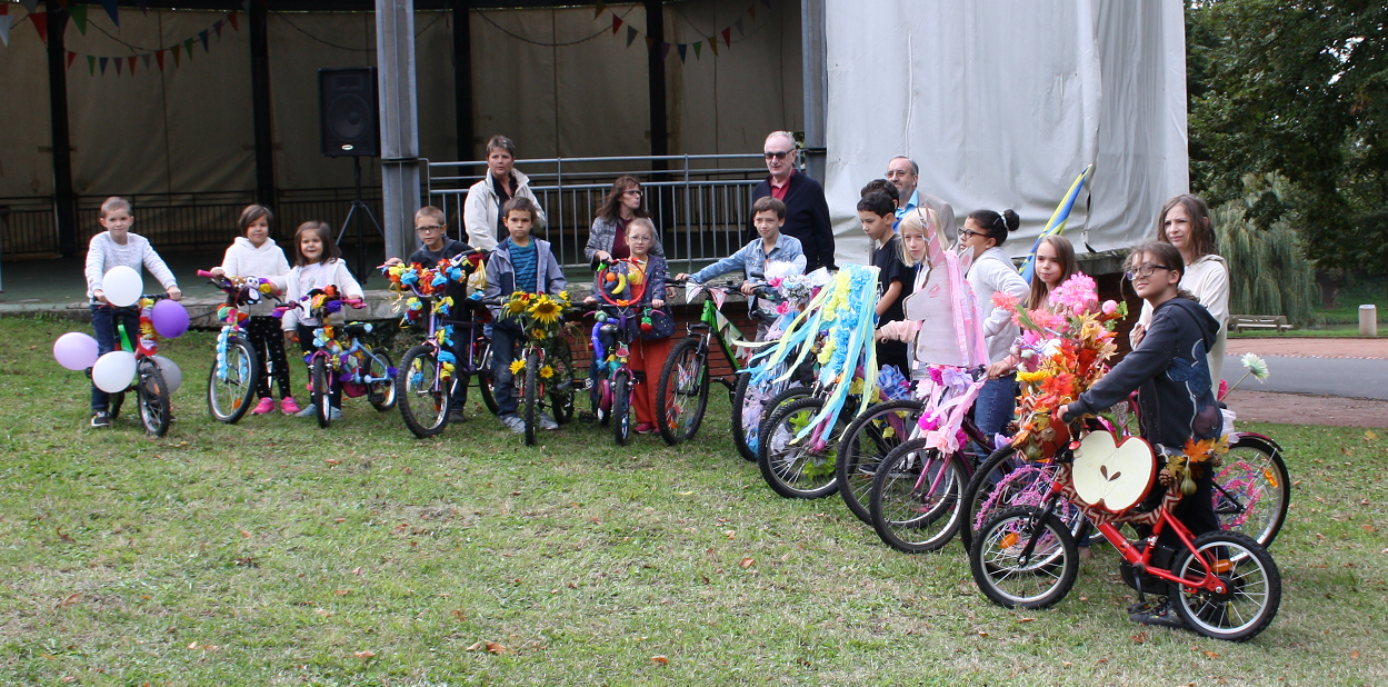 Concours des vélos décorés
