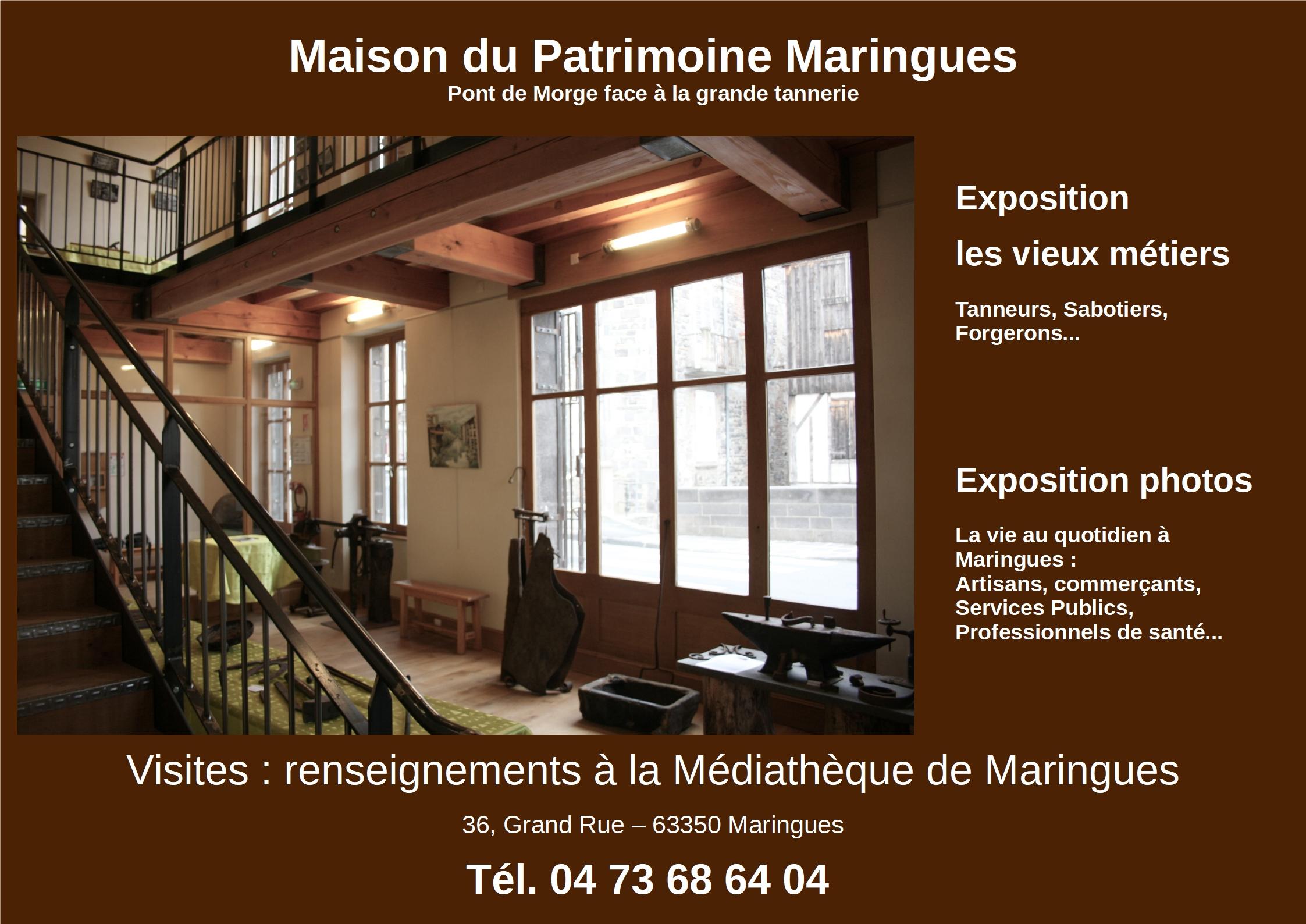 Visitez la Maison du Patrimoine de Maringues