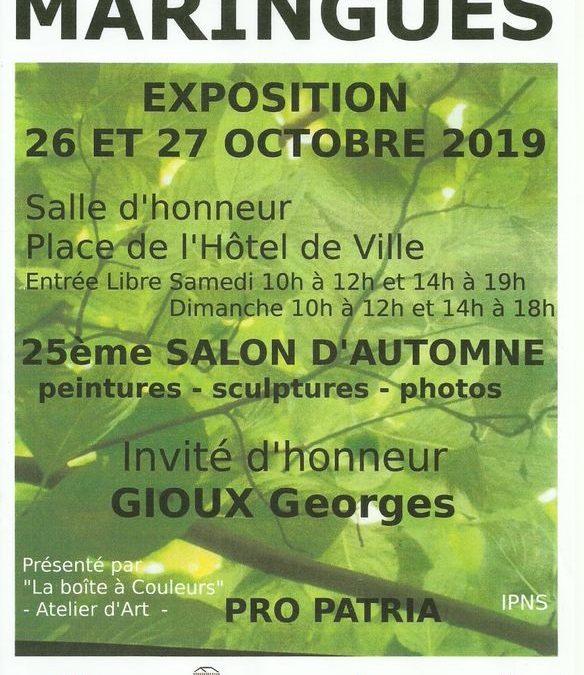 25ème Salon d'automne