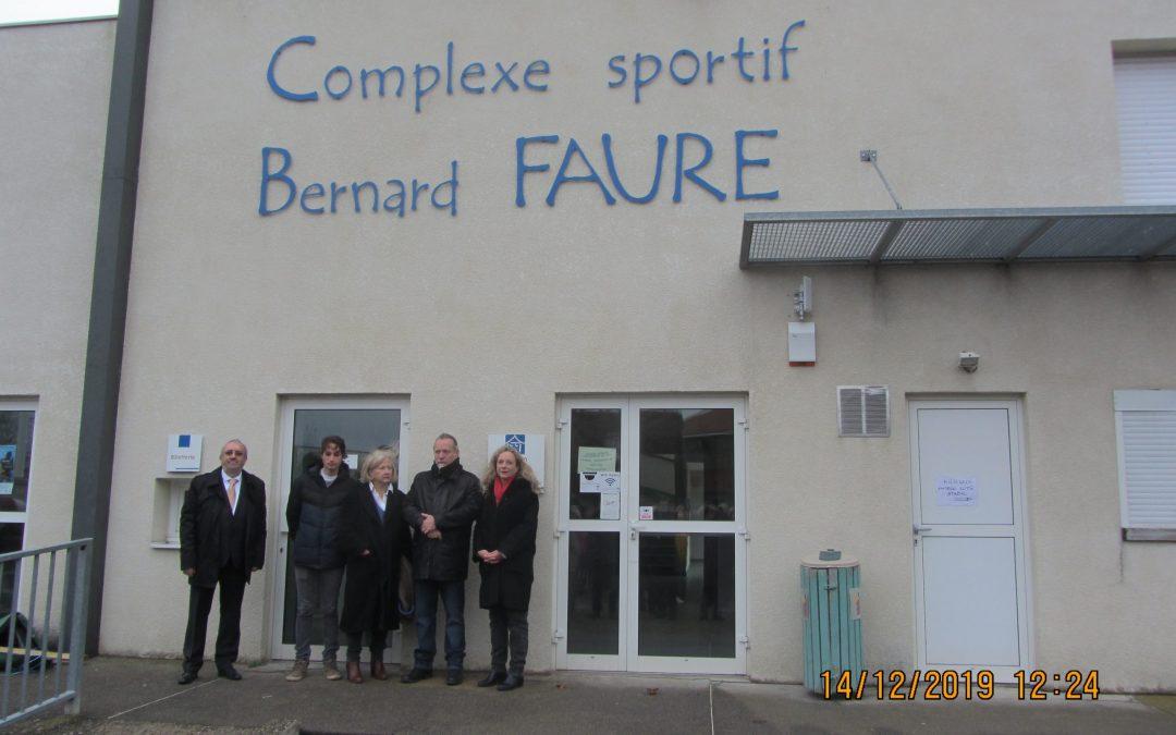 Hommage à Bernard FAURE et Jean SAVIGNAT