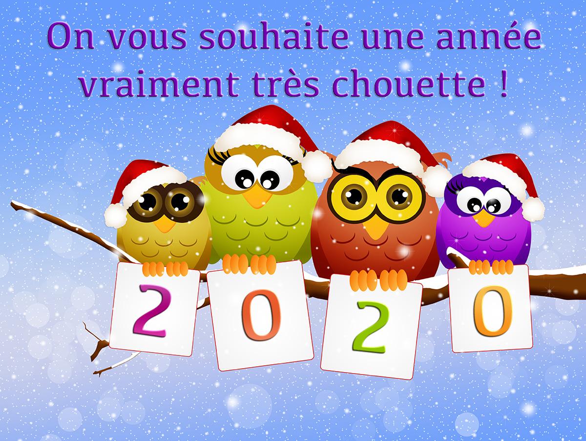 Bonne année à toutes et à tous