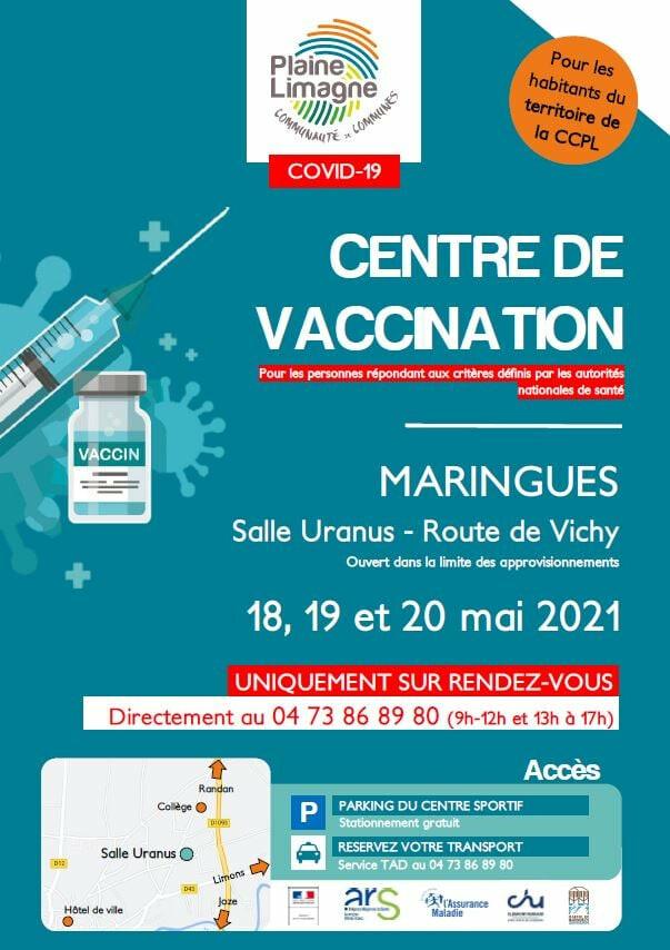 Vaccination contre le COVID-19